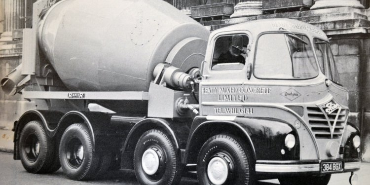 1960 Foden Mickey Mouse Cabbed