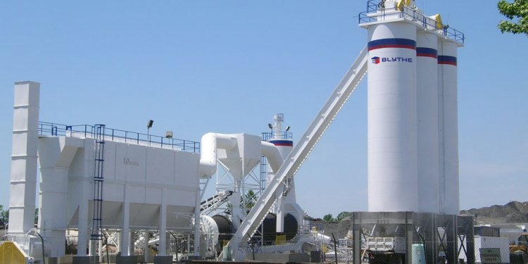 Asphalt Plant Locations: