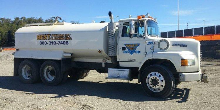 Best Parking Lot Water Truck
