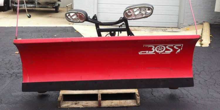 Boss Snow Plow Snowplow RT3