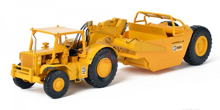 CAT 660 Scraper