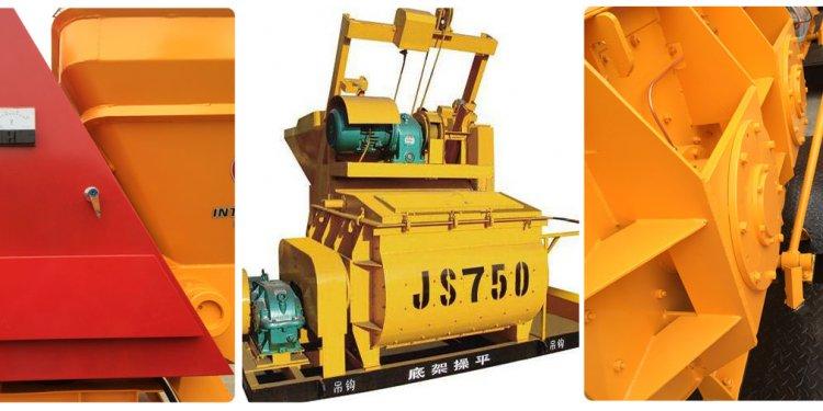 JS750 concrete mixer machine