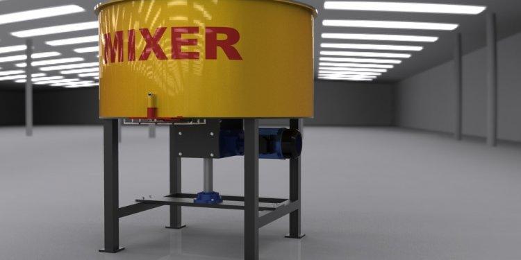 Concrete Mixer - SketchUp - 3D