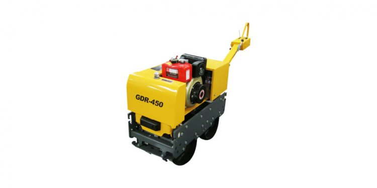 500 kg Diesel Vibrating Trench