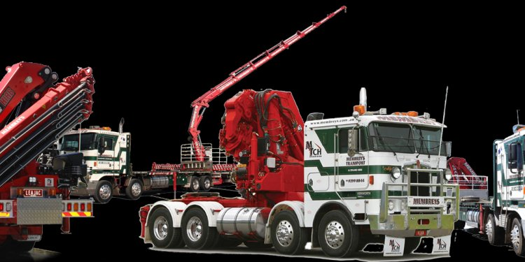 Types of Crane Trucks