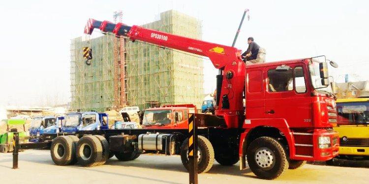 DRZ 8x4 SHACMAN lorry truck