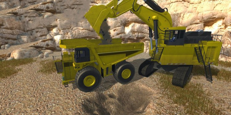 Excavator Videos For Children