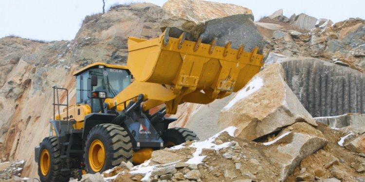 Chinese wheel loader lg958