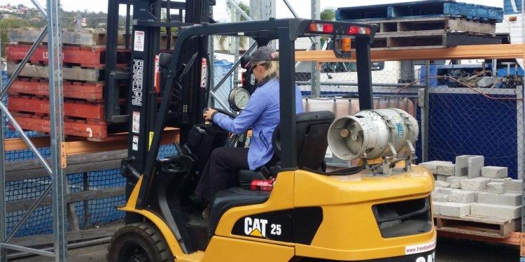 Forklift licence gold coast