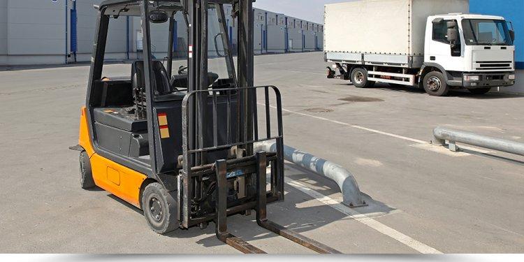 Forklift range page