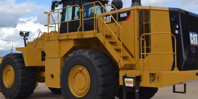 And Large Wheel Loaders
