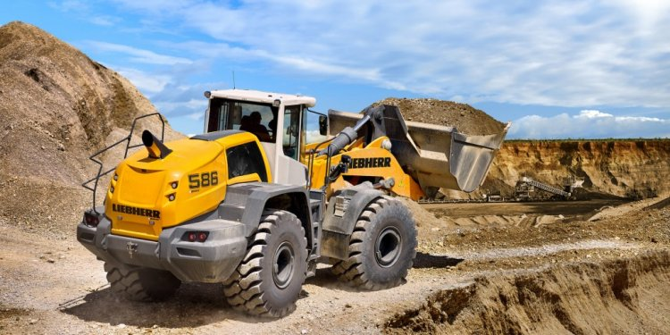 Liebherr models L550 through
