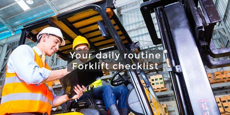 Forklift Truck Checklist