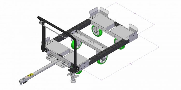 Modular Industrial Cart For