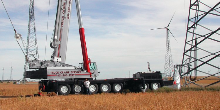 Minnesota Truck Crane Rental