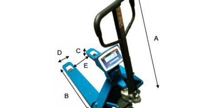 Narrow Pallet Jack with