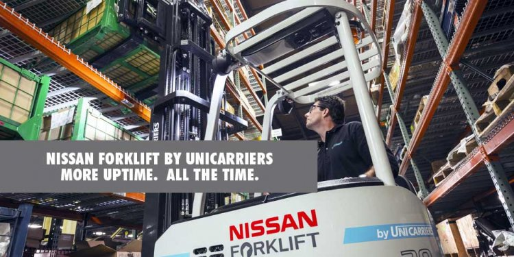 Nissan forklift by