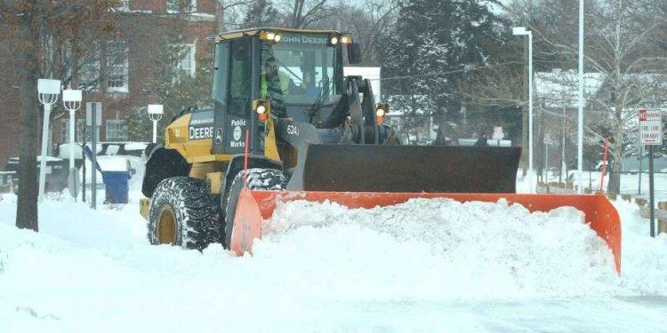 Kleydorff The heavy snow
