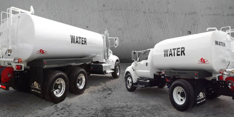 On-Road Water Trucks For Sale