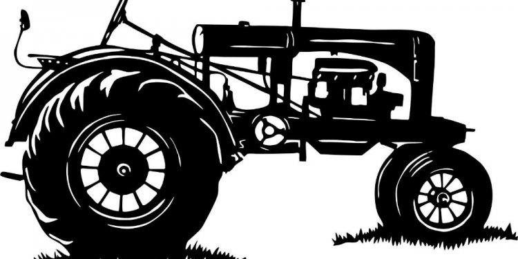 Tractor farm equipment