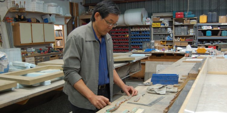 Fu-Tung Creating the Stone