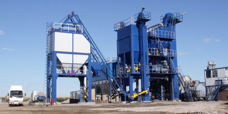 RD asphalt mixing plant