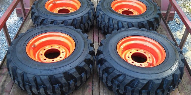 4 NEW 12X16.5 Skid Steer Tires