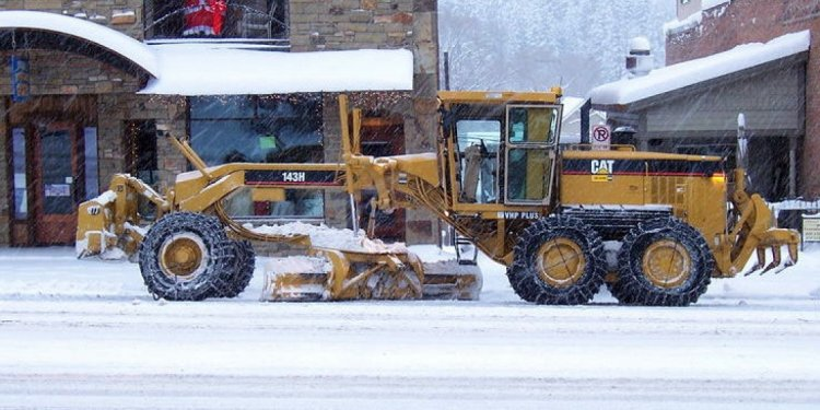 Snow Plow Grader