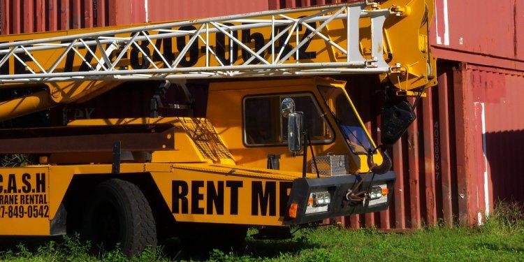 Start A Crane Rental Business