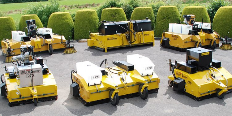 Multisweep Sweeper Attachments