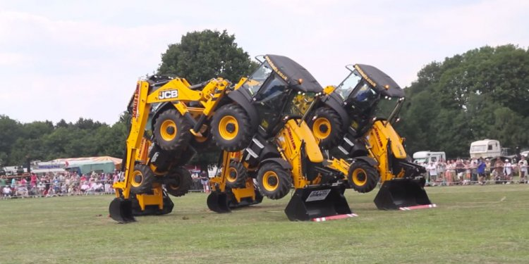 Synchronized Tractor Dancing