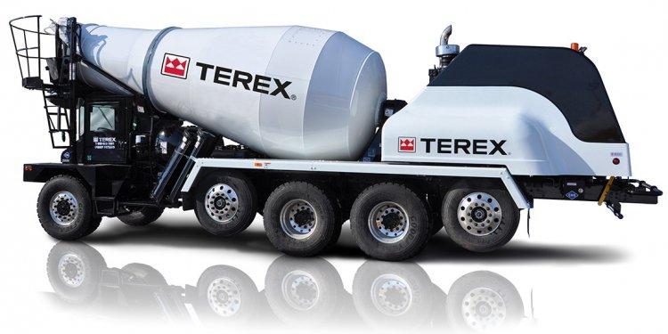 CNG concrete mixer truck