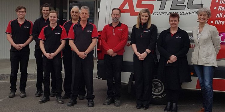 Team at Astec Equipment