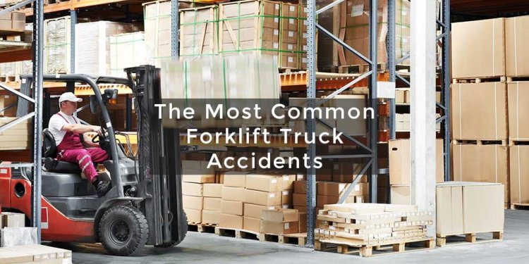 A Forklift truck is an