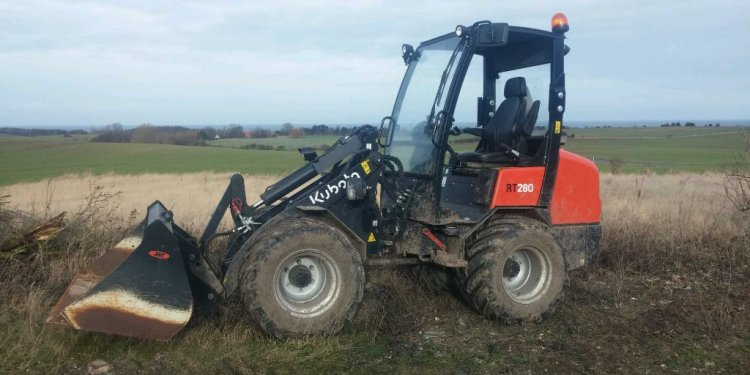 Used Kubota RT280/Giant 452