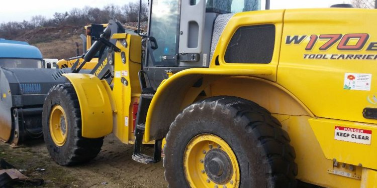 New Holland W170B, 2008