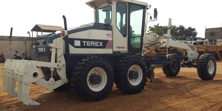 Terex TG 190, 2007