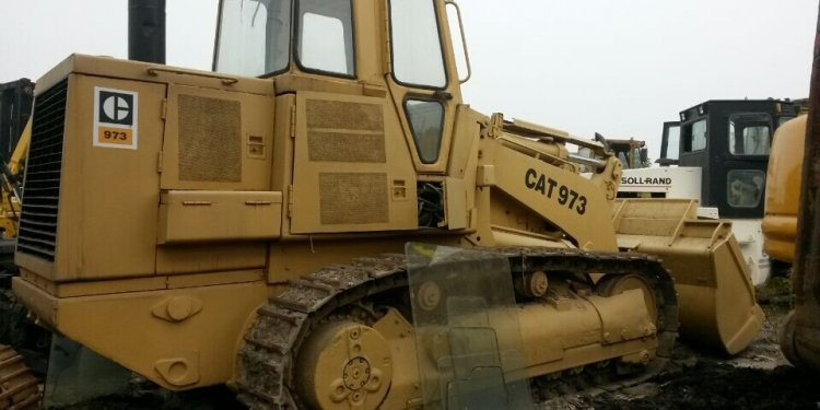 Used wheel loader 973 front