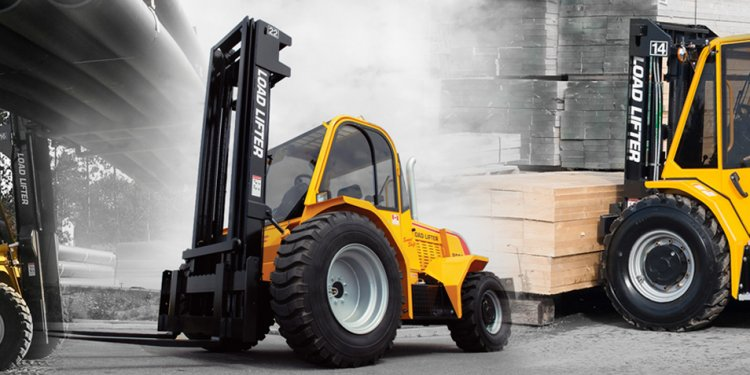 4 Wheel Drive Forklifts