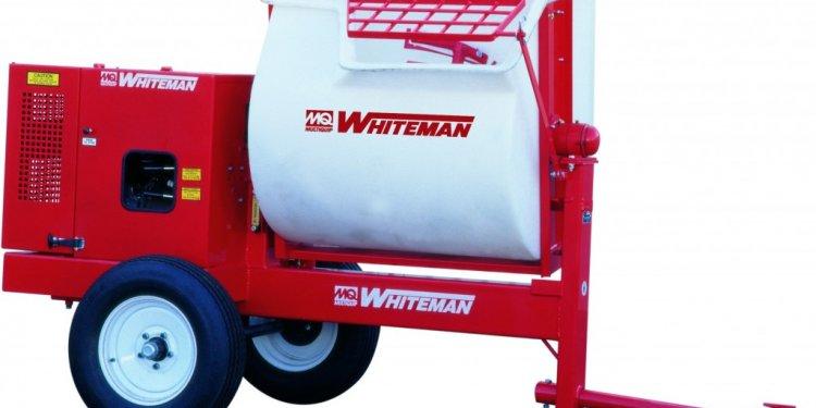 Whiteman Mixer | Curb Depot