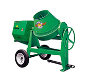 6 Cu ft Gas Concrete Mixer Towbehind