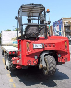 A Truck Mounted Forklift from MOFFIT
