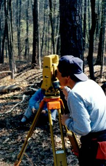 accuracy of land surveys