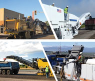 Asphalt Pavement Milling equipment