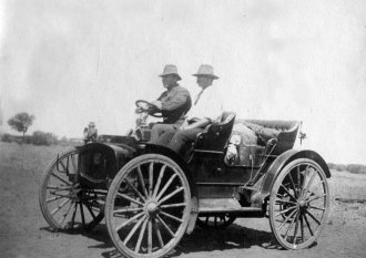 Buggy on Wooleen Station