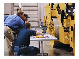 Caterpillar offers training and consulting services