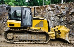 CPM insurance covers machinery such as bulldozers.