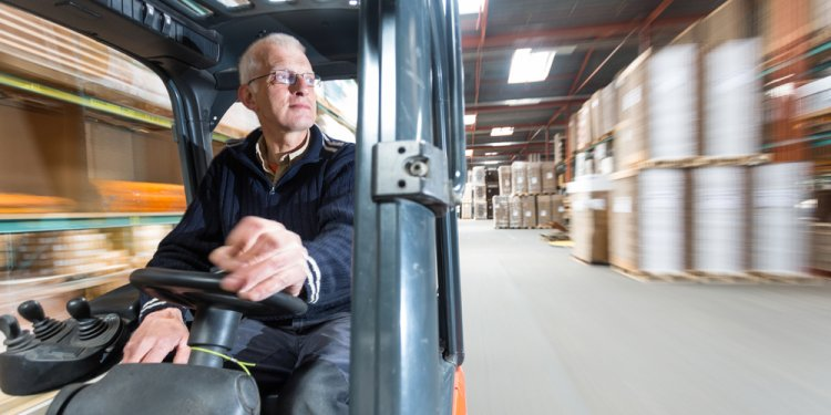 What is Forklift truck?