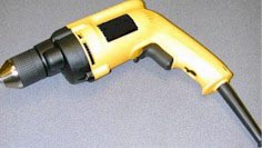 Double-insulated hand-held power tool