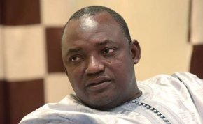 Gambian president-elect Adama Barrow. PHOTO |